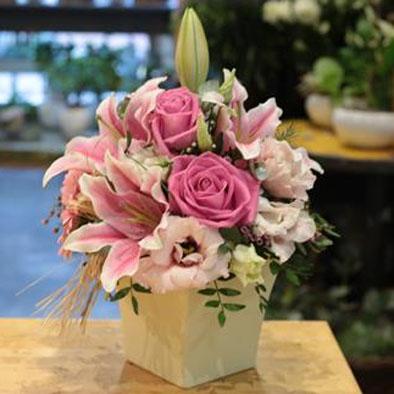 Pretty in pink flower power florist leeds pretty in pink mightylinksfo